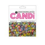 Craftwork Cards - Candi - Shimmer Paper Dots - Flower Patchwork