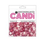 Craftwork Cards - Candi - Shimmer Paper Dots - Flower Passionista