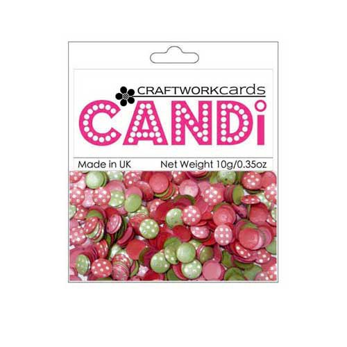 Craftwork Cards - Candi - Shimmer Paper Dots - Dotty Very Merry Silver