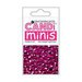 Craftwork Cards - Candi Minis - Paper Dots - Regal Garnet