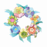 Craftwork Cards - Create a Wreath Kit - Party Time