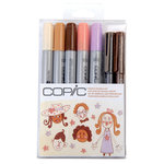Copic - Marker Sets - Doodle Kit - People