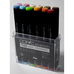 Copic - Sketch Marker Set - 25th Anniversary Set B - 12 Piece