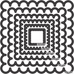 Couture Creations - Nesting Dies - Scallop Square