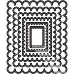 Couture Creations - Nesting Dies - Scallop Rectangle