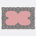 Couture Creations - Ornamental Lace Dies - Lotus Filet