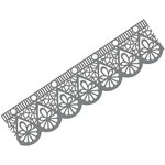Couture Creations - Christmas Lace Collection - Ornamental Lace Dies - Christmas Border