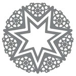 Couture Creations - Christmas Lace Collection - Ornamental Lace Dies - Christmas Star