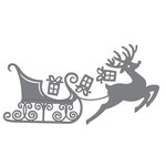 Couture Creations - Merry Little Christmas Collection - Intracutz Dies - Reindeer's Sleigh