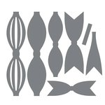 Couture Creations - Decorations Collection - Intracutz Dies - Bow Ties Set