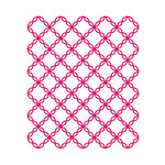 Couture Creations - Mikashet Collection - A2 Embossing Folder - Cotton Thread Quilt