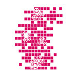 Couture Creations - Mikashet Collection - A2 Embossing Folder - Geo Squares