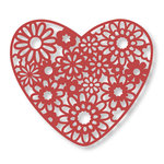 Couture Creations - Floral Lace Collection - Lace Dies - Heart Bouquet