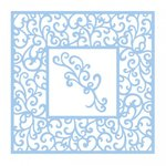 Couture Creations - Elegant Card Cuts Collection - Intricutz Dies - Vierge Square