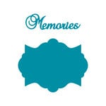Couture Creations - Kalini Collection - Intricutz Dies - Memories Tag