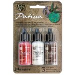 Ranger Ink - Vintaj - Patinas Kit - Opaque Inks - Painted Barn