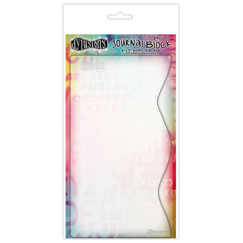 Ranger Ink - Dylusions Stamps - Acrylic Block - Journaling