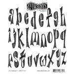 Ranger Ink - Dylusions Stamps - Unmounted Rubber Stamps - Dy's Alphabet