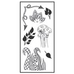 Ranger Ink - Dylusions - Clear Acrylic Stamps - Clearly Doodle Parts