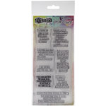 Ranger Ink - Dylusions - Clear Acrylic Stamps - Clearly Quotes