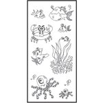 Ranger Ink - Dylusions - Clear Acrylic Stamps - Clearly Under The Sea
