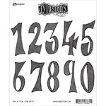 Ranger Ink - Dylusions Stamps - Unmounted Rubber Stamps - One in Ten