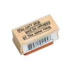 Ranger Ink - Dylusions - Wood Mounted Stamps - Skip Quote