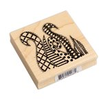 Ranger Ink - Dylusions - Wood Mounted Stamps - Doodled Swirls