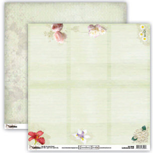 Donna Salazar - Grandma's Garden Collection - 12 x 12 Double Sided Paper - Garden Journal Cards, CLEARANCE
