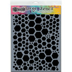 Ranger Ink - Dylusions Stencils - Honeycomb - Large