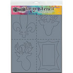 Ranger Ink - Dylusions Stencils - Country - Large