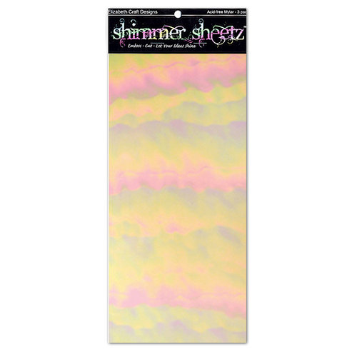 Elizabeth Craft Designs - Shimmer Sheets - Light Pink Iris