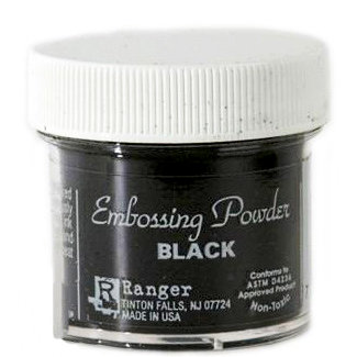 Ranger Ink - Embossing Powder - Super Fine Detail - Black