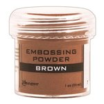 Ranger Ink - Opaque Shiny Embossing Powder - Brown