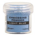 Ranger Ink - Opaque Shiny Embossing Powder - Light Blue