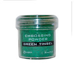 Ranger Ink - Specialty 1 Embossing Powder - Green Tinsel