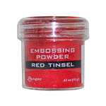 Ranger Ink - Specialty 1 Embossing Powder - Red Tinsel