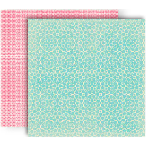 GCD Studios - Splendor Collection - 12 x 12 Double Sided Paper - Candytuft