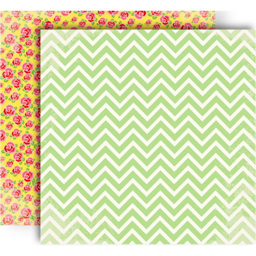 GCD Studios - Oh Happy Day Collection - 12 x 12 Double Sided Paper - Priscila