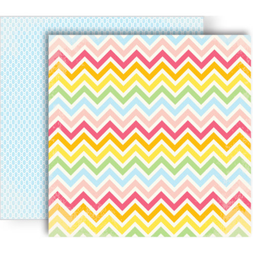 GCD Studios - Oh Happy Day Collection - 12 x 12 Double Sided Paper - Ambers Avenue