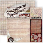 GCD Studios - Donna Salazar - Antiquities Collection - 12 x 12 Double Sided Paper - One Sheet Wonderful