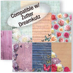 GCD Studios - Donna Salazar - Spring in Bloom Collection - 12 x 12 Double Sided Paper - Spring Journal Cards