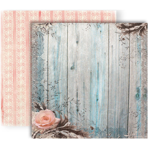 GCD Studios - Donna Salazar - Botanique Collection - 12 x 12 Double Sided Paper - Elegant