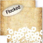 GCD Studios - Melody Ross - Soul Food Collection - 12 x 12 Double Sided Paper with Flocked Accents - Soulfield
