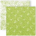 GCD Studios - Melody Ross - Soul Food Collection - 12 x 12 Double Sided Paper - Lovely Green