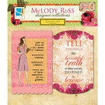 GCD Studios - Melody Ross - Soul Food Collection - Inspiration Cards with Glitter Accents
