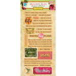GCD Studios - Melody Ross - Soul Food Collection - Chipboard Stickers with Varnish Accents - Journal Prompt