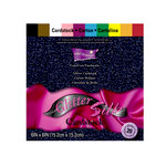 Core'dinations - Glitter Silk - 6 x 6 Color Core Cardstock Pack