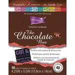 Core'dinations - The Chocolate Box - 4.25 x 5.5 Color Core Cardstock Pack