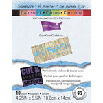 Core'dinations - White Wash - 4.25 x 5.5 Color Core Cardstock Pack